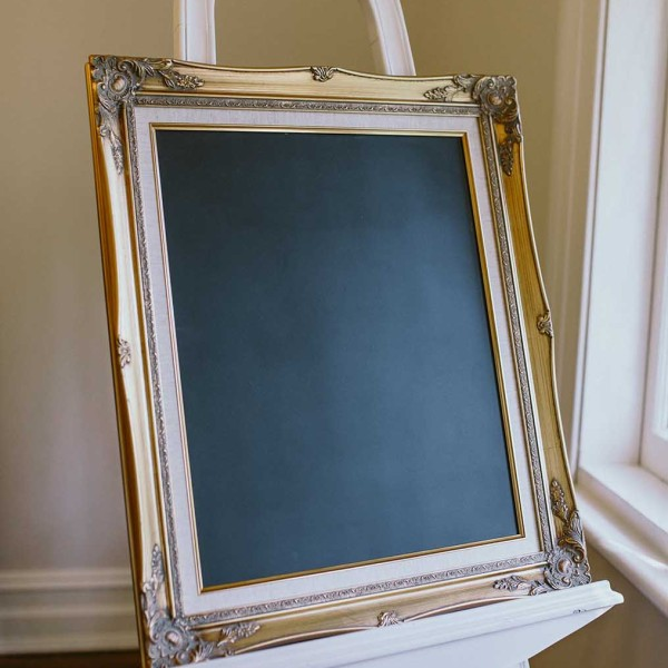 96a935911c7 Large Gold Frame   Chalk Board – Willow Tree